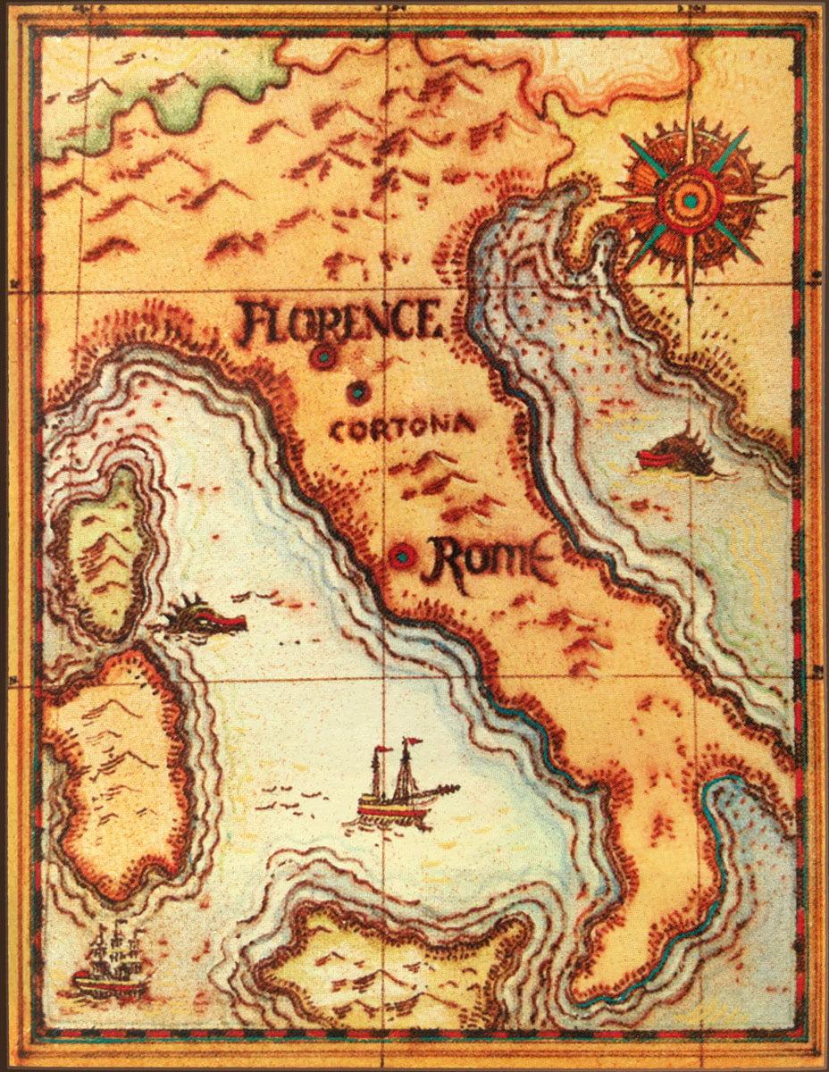 About Cortona Italy Map - Cortona Center of Photography