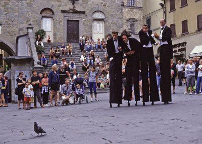 Four Stooges, Cortona, Italy
