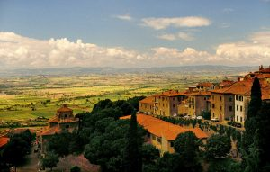 View from the Hotel - Cortona Center of Photography Italy Workshops