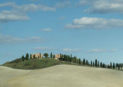 Landscape by Katie Archibald-Woodward Tuscany Italy