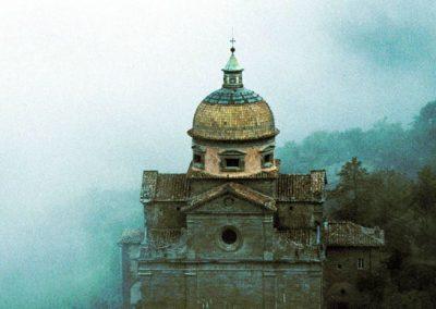 Santa Maria Nuova in the Fog