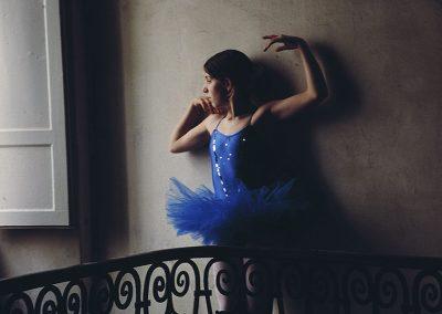 Ballet Dancer by Dorothy O' Beirne - Cortona, Italy