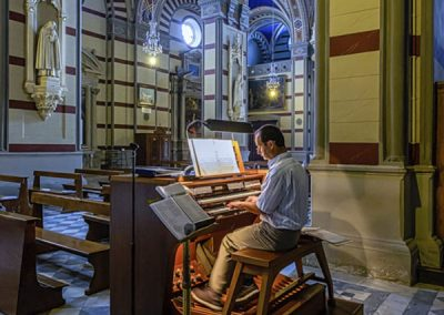 Cathedral Organ Player by Neil Allen - Cortona, Italy